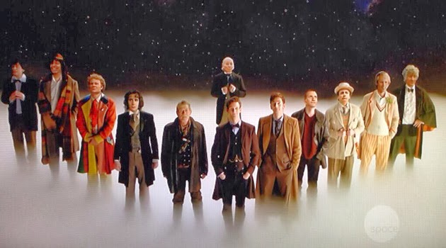 The Twelve Doctors- The Day of The Doctor- BBC
