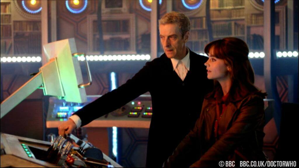 Doctor Who - Season 8 Trailer - Peter Capaldi (The Doctor) and Jenna Coleman (Clara) - (c) BBC