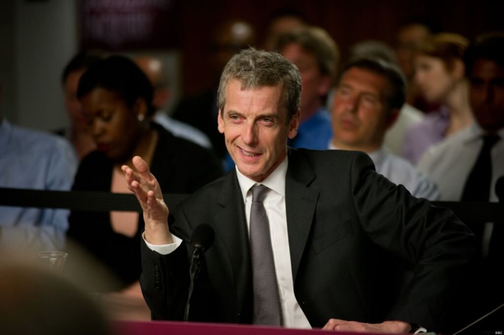 Peter Capaldi - The Thick Of It -BBC - Photographer: Des Willie