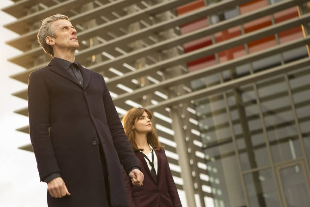Doctor Who - S8E5 - Time Heist - Peter Capaldi as the Doctor, Jenna Coleman as Clara Oswald (c) BBC - Photo Adrian Rogers