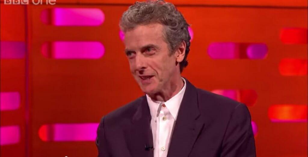 Peter Capaldi - The Graham Norton Show (c) BBC