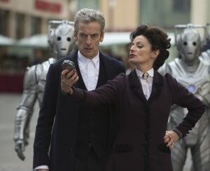 Doctor Who - Series 8 Episode 12 - Death in Heaven - MICHELLE GOMEZ as Missy, PETER CAPALDI as The Doctor - (c) BBC - Photo Adrian Rogers