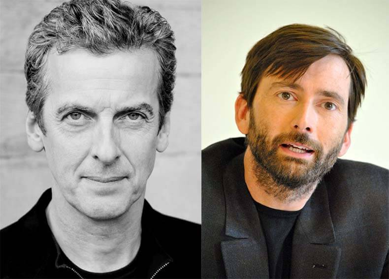 What does david tennant think of peter capaldi s first series