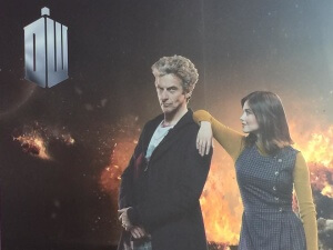 Cast Life Size Cut Out's - Doctor Who Series 9 Screening, Cardiff
