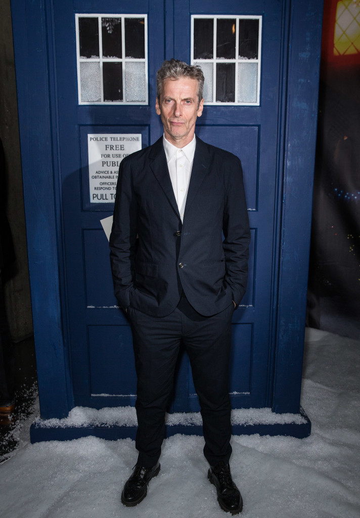 Peter Capaldi Doctor Who 'The Husband's of River Song' Screening, BFI Southbank, London, Britain - 16 Dec 2015 Mandatory Credit: Photo by James Gourley/REX/Shutterstock