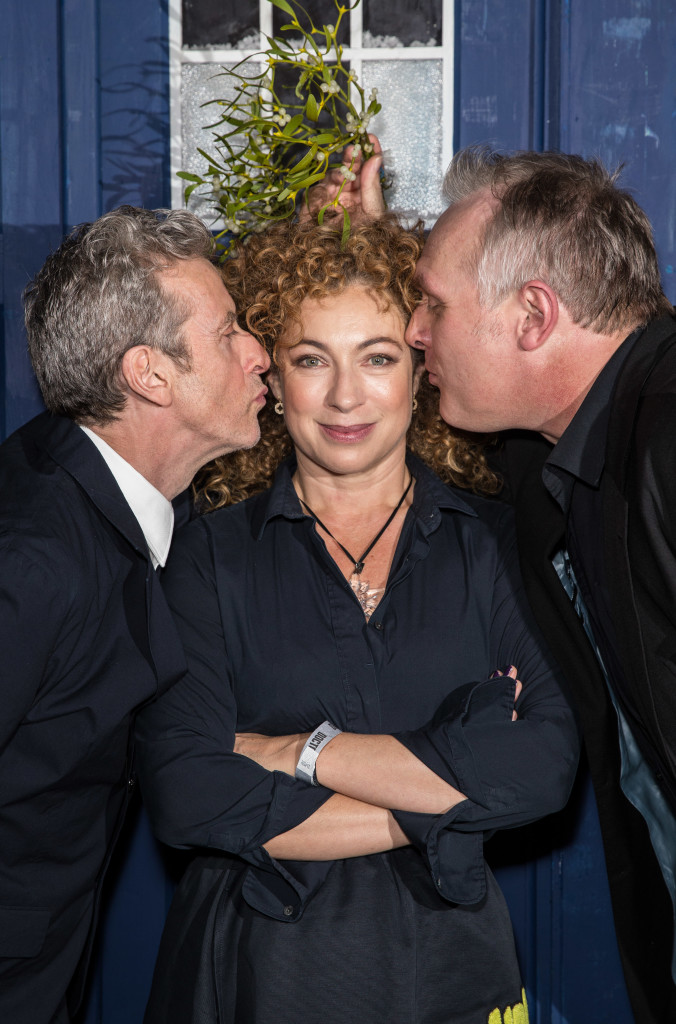 Peter Capaldi, Alex Kingston and Greg Davies Doctor Who 'The Husband's of River Song' Screening, BFI Southbank, London, Britain - 16 Dec 2015 Mandatory Credit: Photo by James Gourley/REX/Shutterstock