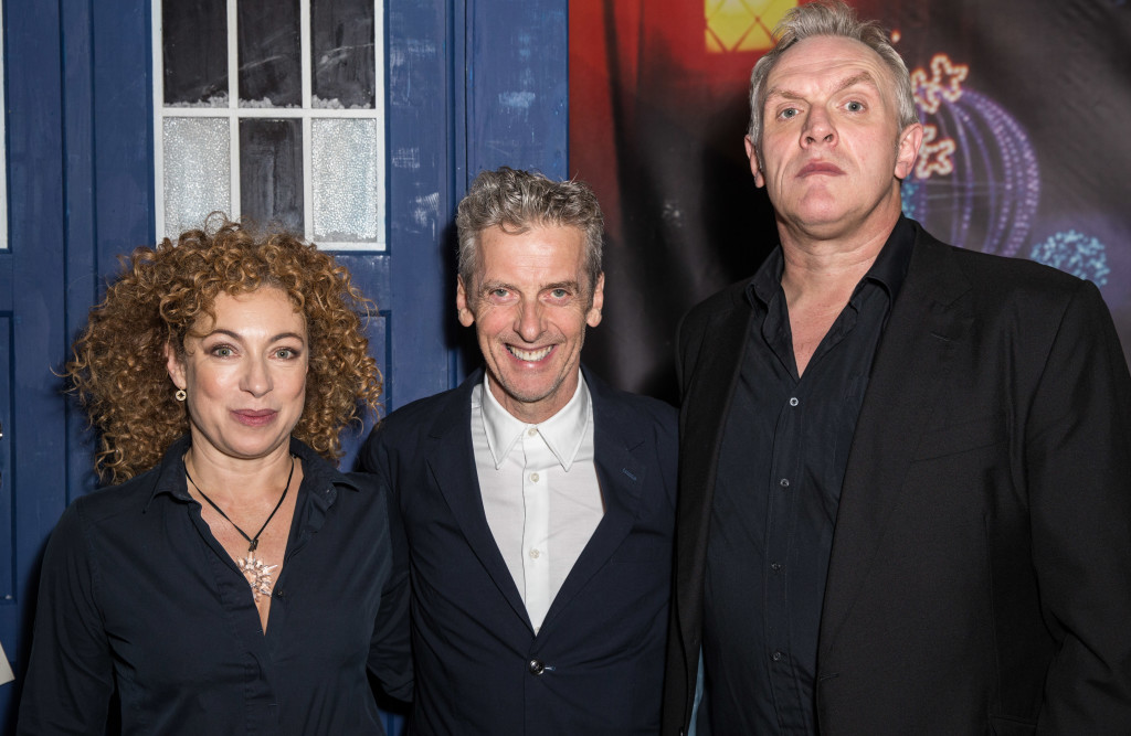 Alex Kingston, Peter Capaldi and Greg Davies Doctor Who 'The Husband's of River Song' Screening, BFI Southbank, London, Britain - 16 Dec 2015 Mandatory Credit: Photo by James Gourley/REX/Shutterstock