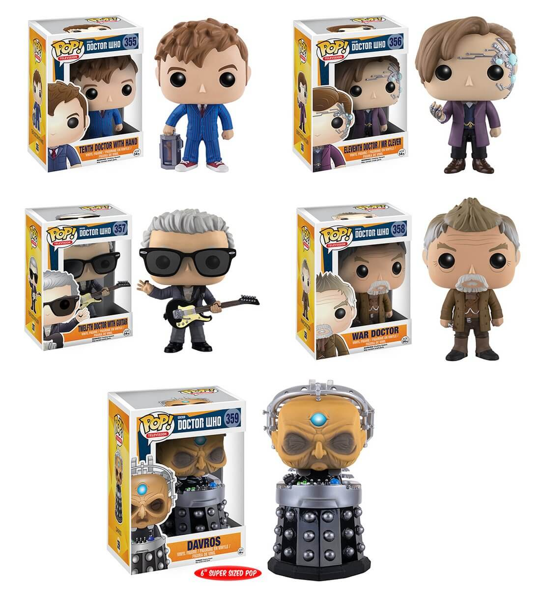 12th Doctor And Guitar Funko Doctor Who Pop Vinyl Figure