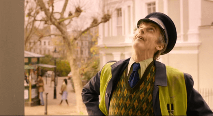 "Peter Capaldi Reprises ""Mr. Curry"" – Paddington 2"